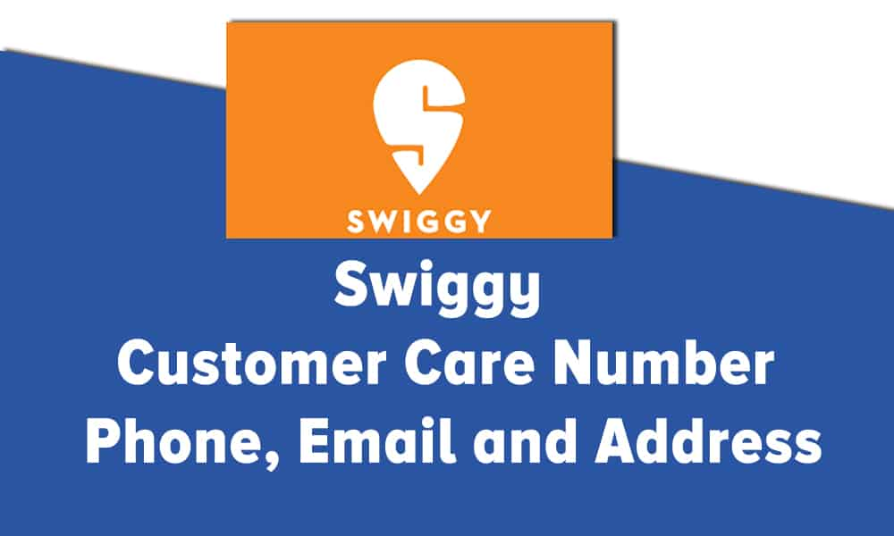 Swiggy Email Id Customer Care Number